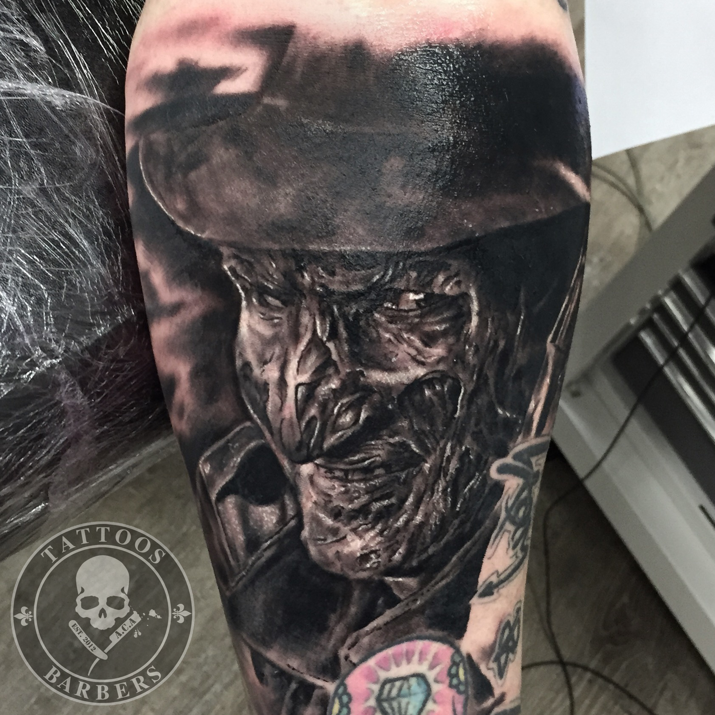 A Cut of Art Tattoo Studio & Barbershop in Selsdon, Croydon | Custom Tattoos, Cover-up's, horror tattoos, fine art tattoos, portrait tattoos by Zsolt.