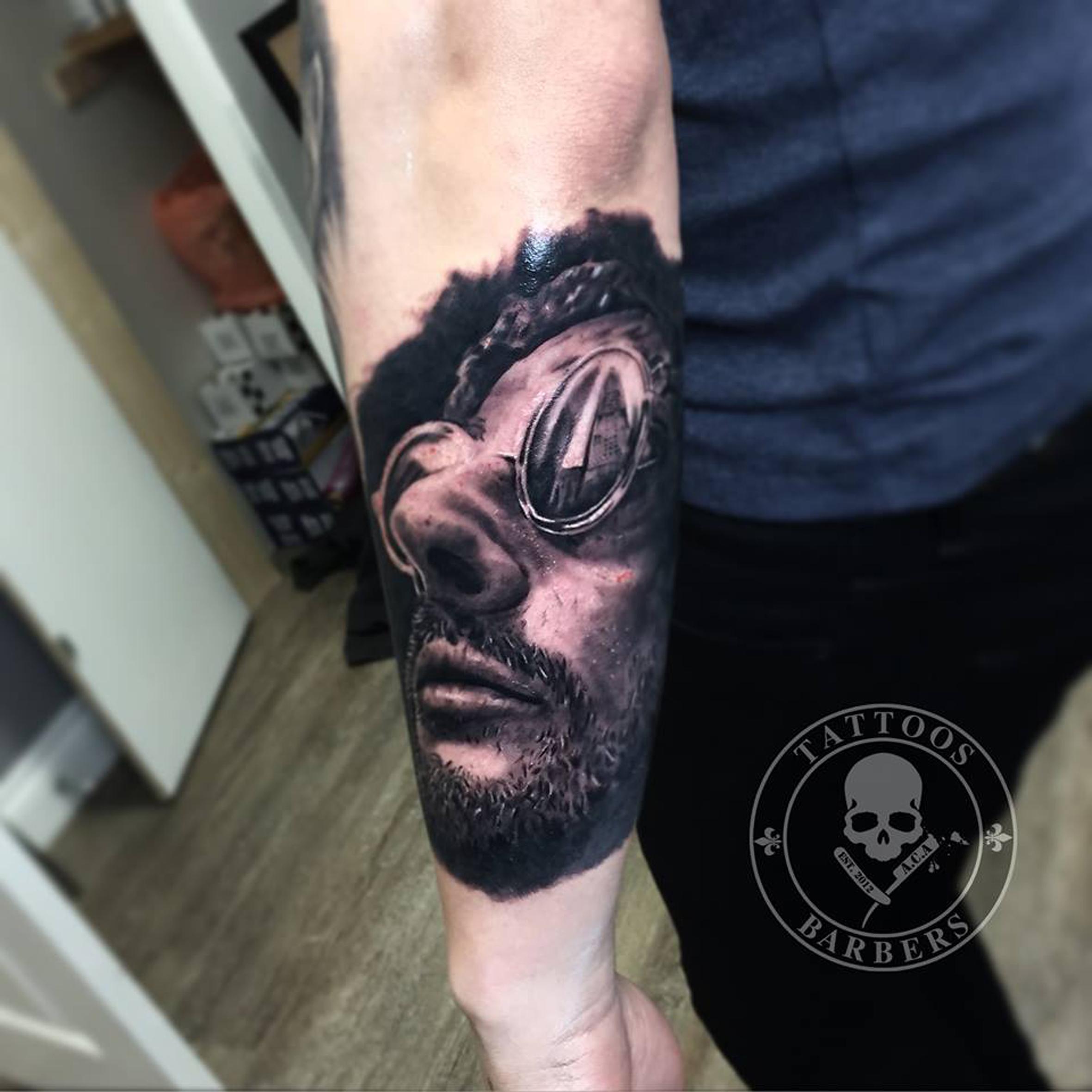 A Cut of Art Tattoo Studio & Barbershop in Selsdon, Croydon | Custom Tattoos, Cover-up's, horror tattoos, fine art tattoos, portrait tattoos by Zsolt.